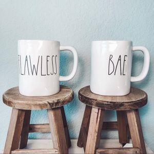 Rae Dunn Flawless Bae Mug Set